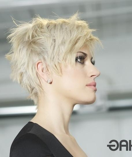 Well Known Cropped Pixie Haircuts Throughout Short Pixie Hairstyles: Cropped Haircut – Popular Haircuts (View 20 of 20)