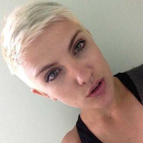 Well Known Extremely Short Pixie Haircuts With 25 Very Short Pixie Cuts (View 20 of 20)