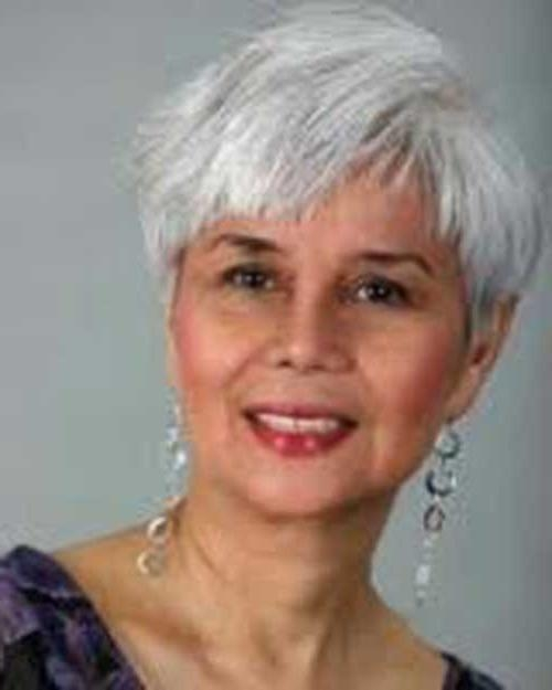 Well Known Grey Pixie Haircuts Inside 15 Short Pixie Hairstyles For Older Women (View 19 of 20)