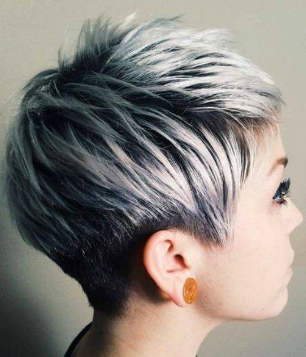Well Known Grey Pixie Haircuts With The 25+ Best Pixie Cut Color Ideas On Pinterest (View 10 of 20)