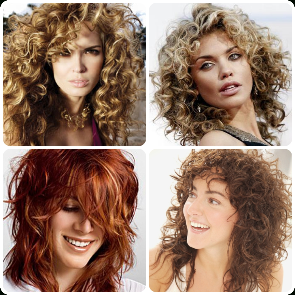 Featured Photo of Medium Shaggy Curly Hairstyles