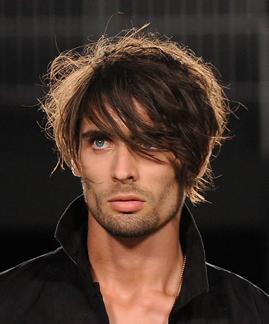 Well Known Mens Shaggy Hairstyles Thick Hair Inside Short Shaggy Hairstyles Men – Men Hairstyle Trendy (View 13 of 15)