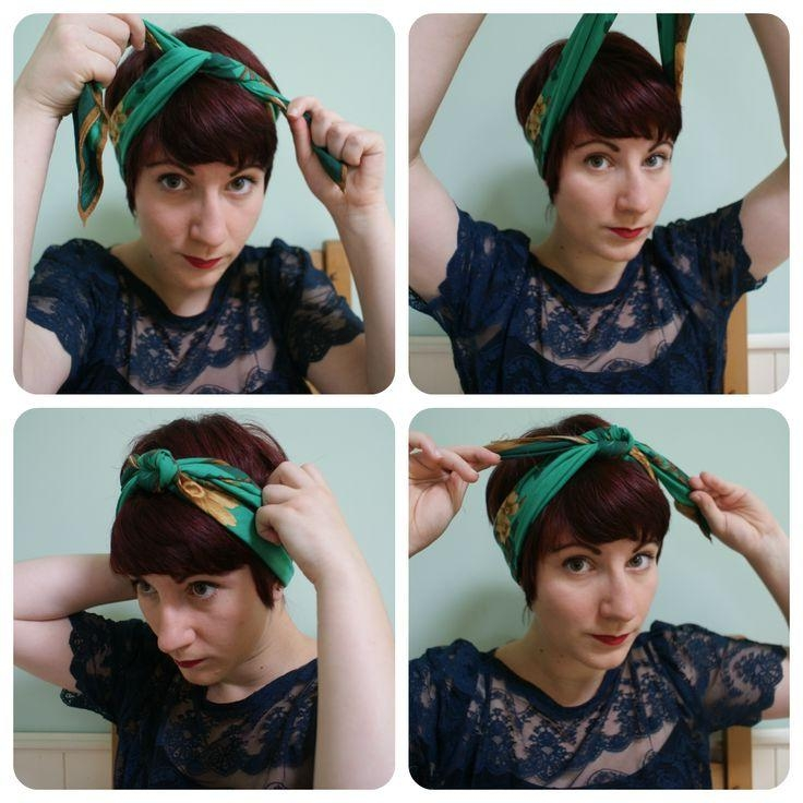 Well Known Pixie Haircuts Accessories Throughout Best 25+ Pixie Cut Headband Ideas On Pinterest (View 18 of 20)