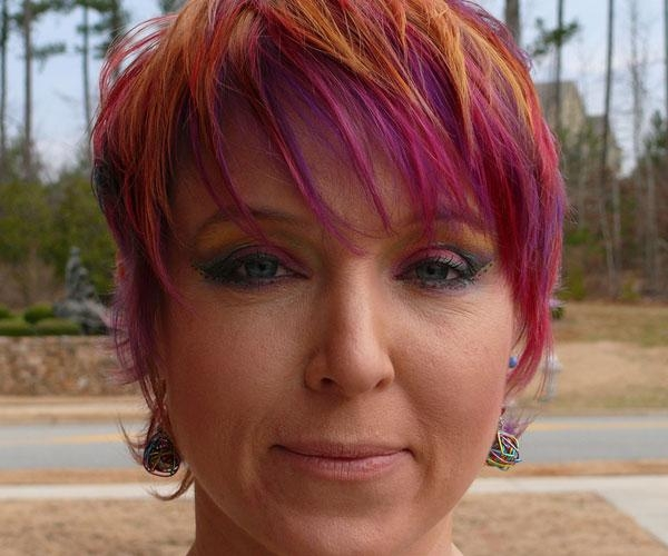 Well Known Pixie Haircuts Colors Inside Touch Front Hair Strs This Pixie Hairstyle For Red (View 20 of 20)