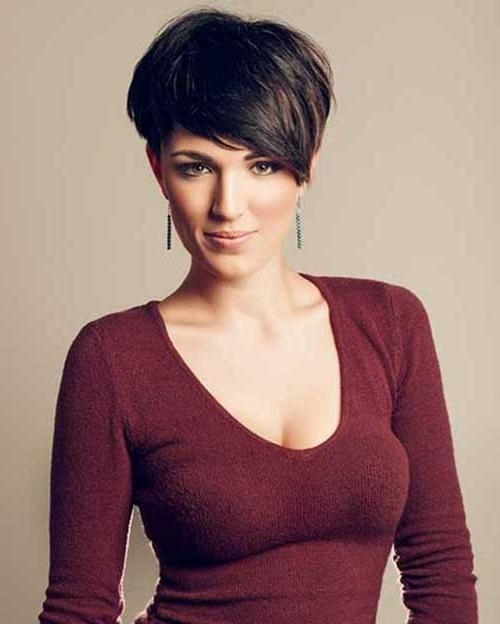 Well Known Pixie Haircuts For Dark Hair With 20 Short Pixie Hairstyles  (View 18 of 20)