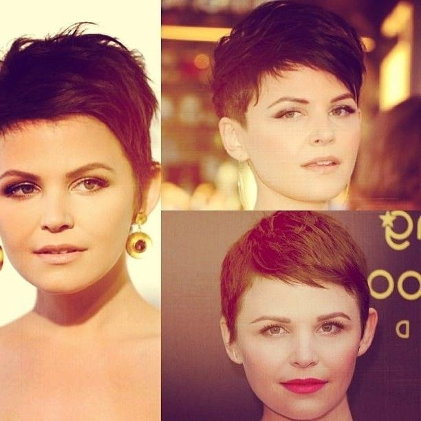 Well Known Pixie Haircuts For Heart Shaped Faces Intended For 21 Stylish Pixie Haircuts: Short Hairstyles For Girls And Women (View 17 of 20)