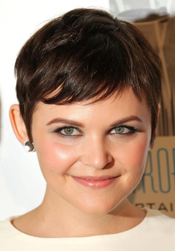 Well Known Pixie Haircuts For Square Face Pertaining To Short Haircuts (View 6 of 20)