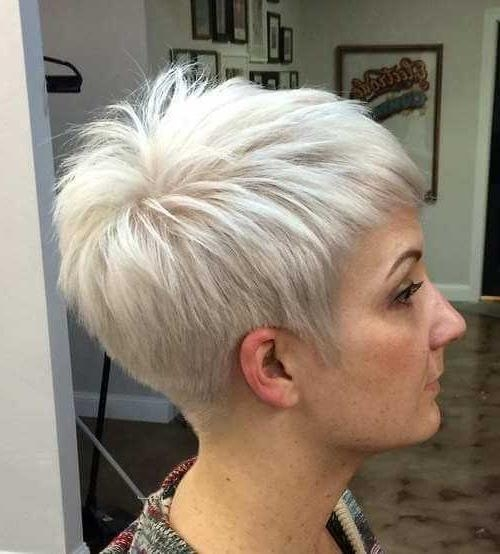 Well Known Pixie Haircuts For Thin Fine Hair Intended For Short Pixie Haircuts For Fine Thin Hair  (View 19 of 20)