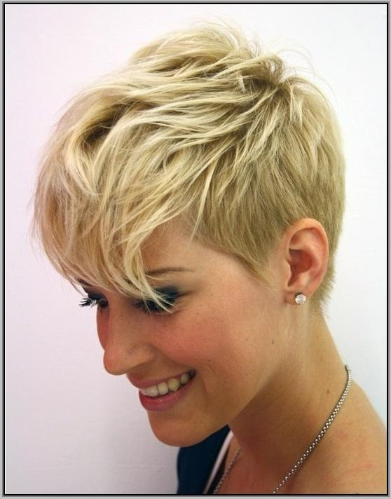 Well Known Pixie Haircuts For Thin Hair Throughout Womens Hairstyles For Thin Hair Pixie Haircuts For Fine Thin Hair  (View 19 of 20)