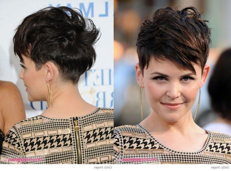 Well Known Pixie Haircuts Front And Back Throughout Pixie Cuts Back View – Find Hairstyle (View 10 of 20)
