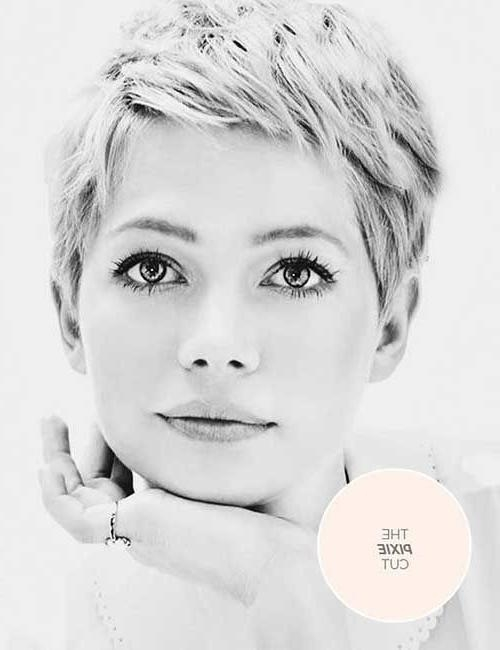 Well Known Round Face Pixie Haircuts In Best 25+ Pixie Cut For Round Faces Ideas On Pinterest (View 20 of 20)