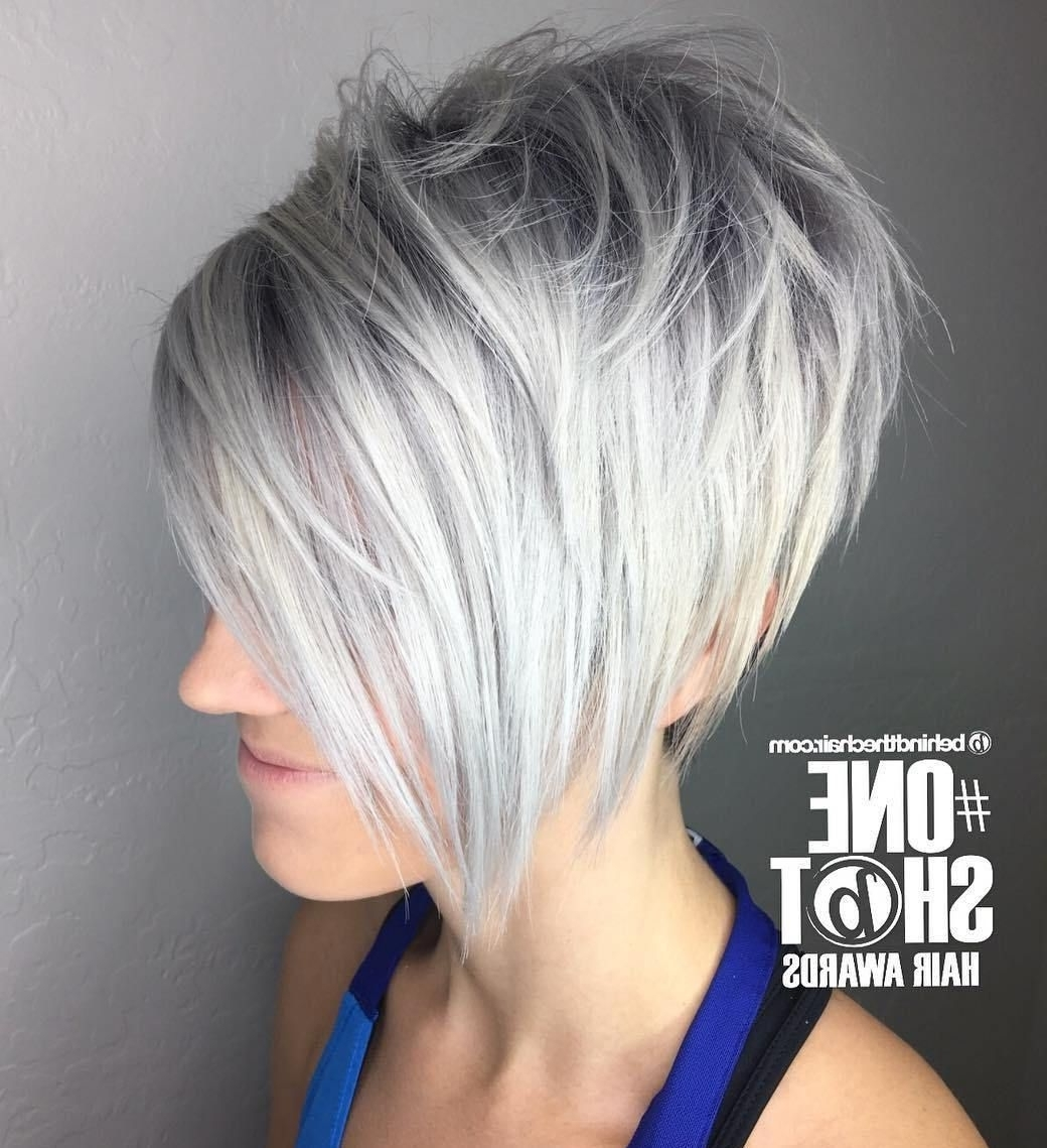 Well Known Shaggy Grey Hairstyles For 70 Short Shaggy, Spiky, Edgy Pixie Cuts And Hairstyles (View 13 of 15)