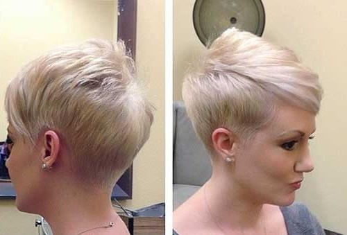 Well Known Short Asymmetrical Pixie Haircuts Intended For 30 Short Blonde Pixie Cuts (View 20 of 20)