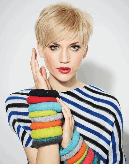 Well Known Short Blonde Pixie Haircuts Intended For Layered Pixie Haircuts: Short And Blonde – Popular Haircuts (View 20 of 20)