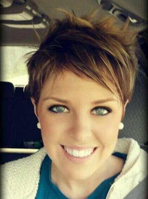 Well Known Short Pixie Haircuts For Fine Hair For Pixie Haircuts For Fine Hair It Is Possible To Try (View 19 of 20)