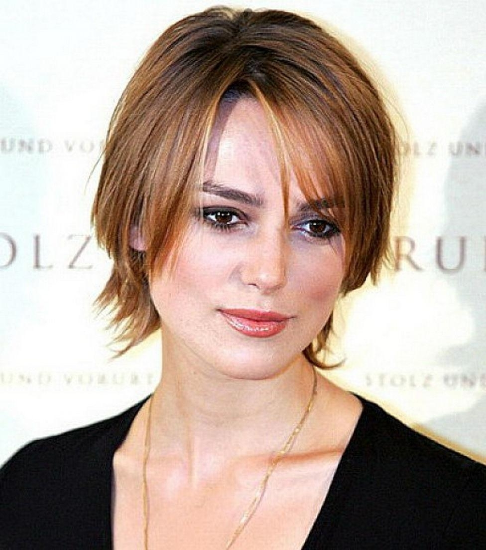 Well Known Short Shaggy Hairstyles For Round Faces Within Different Hairstyles For Hairstyles For Thin Hair And Round Face (View 7 of 15)
