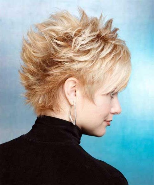 Well Known Spiky Pixie Haircuts With Regard To 10 Popular Short Spiky Pixie Cuts (View 18 of 20)