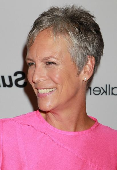 Well Liked Jamie Lee Curtis Pixie Haircuts Pertaining To Jamie Lee Curtis Photos Photos – Pink Party '11 – Arrivals – Zimbio (View 16 of 20)