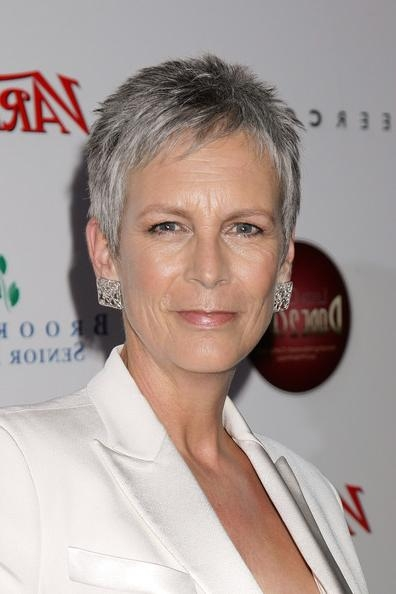 Well Liked Jamie Lee Curtis Pixie Haircuts Within More Pics Of Jamie Lee Curtis Pantsuit (1 Of 2) – Pantsuit (View 8 of 20)