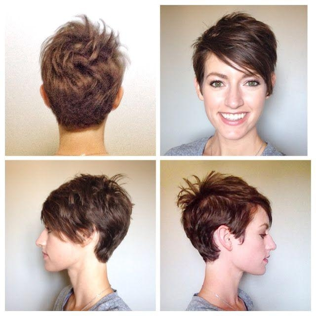 Well Liked Long To Short Pixie Haircuts With Regard To 30 Hottest Pixie Haircuts 2018 – Classic To Edgy Pixie Hairstyles (View 16 of 20)