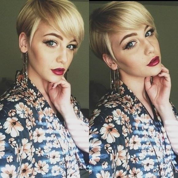 Well Liked Pixie Haircuts For Heart Shaped Faces Regarding 15 Trendy Long Pixie Hairstyles – Popular Haircuts (View 10 of 20)