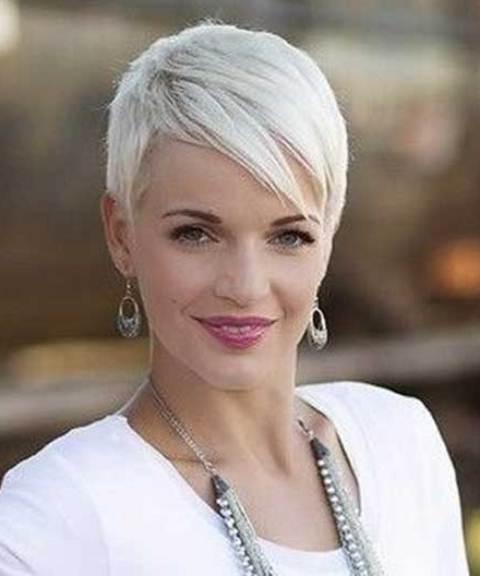 Well Liked Pixie Haircuts With Fringe Inside 15 Different Pixie Haircuts With Bangs (View 15 of 20)