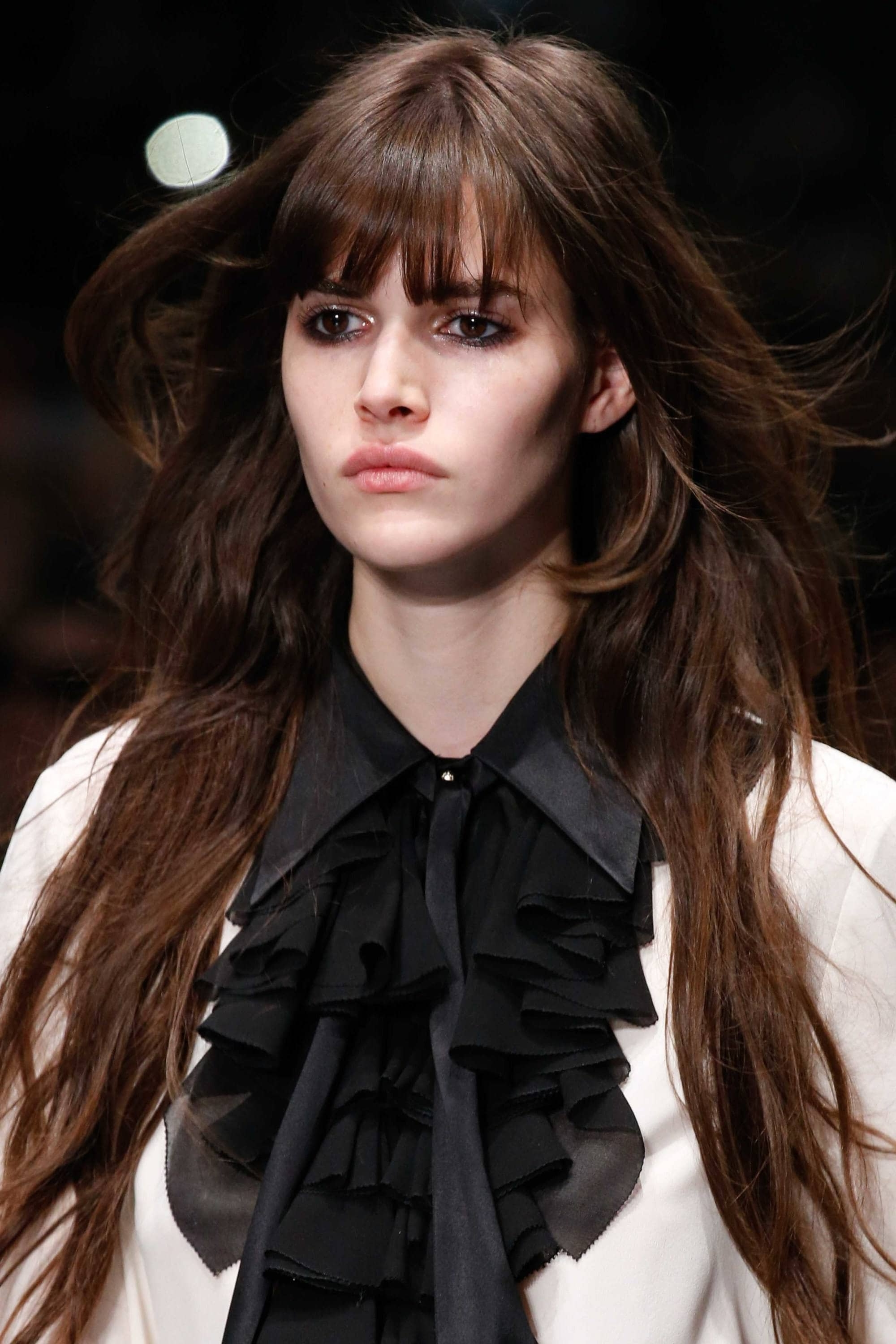 Well Liked Shaggy Bangs Long Hair With Regard To Layered Haircuts With Bangs: Trendy Bangs And Fringes (View 14 of 15)