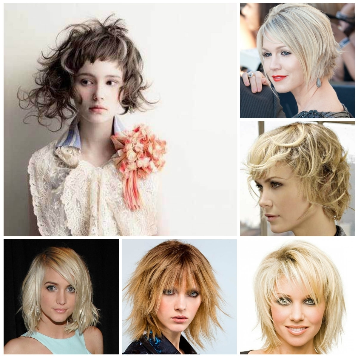 Well Liked Shaggy Chic Hairstyles With Regard To Medium Shaggy Hairstyle For Fine Hair 25 Seriously Chic Medium (View 15 of 15)
