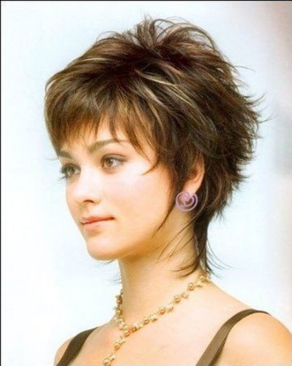 Well Liked Shaggy Short Hairstyles For Round Faces Regarding Medium Shaggy Hairstyles For Women Over Short Shaggy Hairstyles (View 7 of 15)