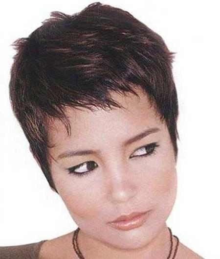 Well Liked Short Choppy Pixie Haircuts For 30 Short Pixie Cuts For Women (View 19 of 20)
