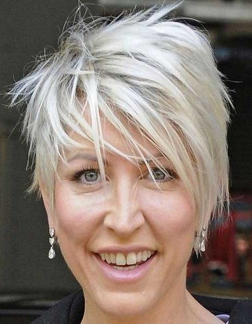 Well Liked Short Choppy Pixie Haircuts Pertaining To 15 Pixie Hairstyles For Over (View 20 of 20)