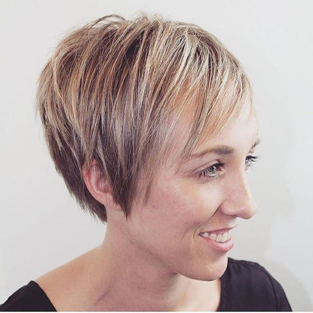 Well Liked Short Pixie Haircuts For Thin Hair Throughout Short Pixie Cut For Fine Thin Hair – Pretty Designs (View 18 of 20)