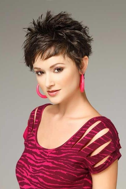 Well Liked Short Spiky Pixie Haircuts With 30 Spiky Short Haircuts (View 19 of 20)