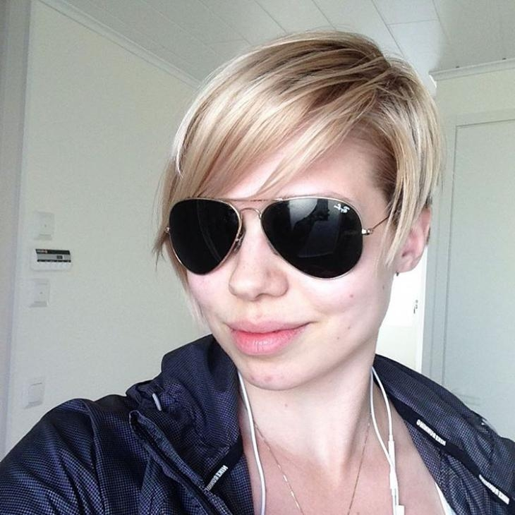Well Liked Stylish Pixie Haircuts For Stylish Pixie Haircut With Bangs (View 19 of 20)