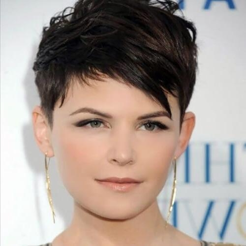 Featured Photo of Super Short Pixie Haircuts For Round Faces