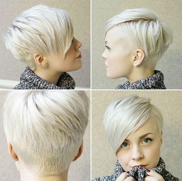 Well Liked Undercut Pixie Haircuts Within Best 25+ Undercut Pixie Ideas On Pinterest (View 19 of 20)