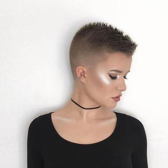 What Is An Undercut For Recent Buzzed Pixie Haircuts (View 20 of 20)