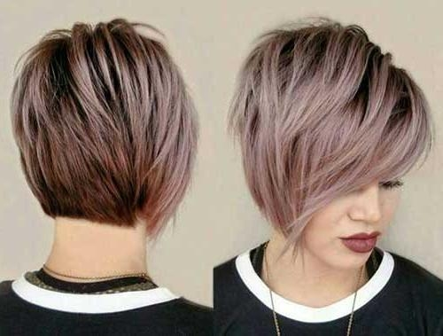 Widely Used Long Bang Pixie Haircuts Inside 20 Longer Pixie Cuts (View 20 of 20)