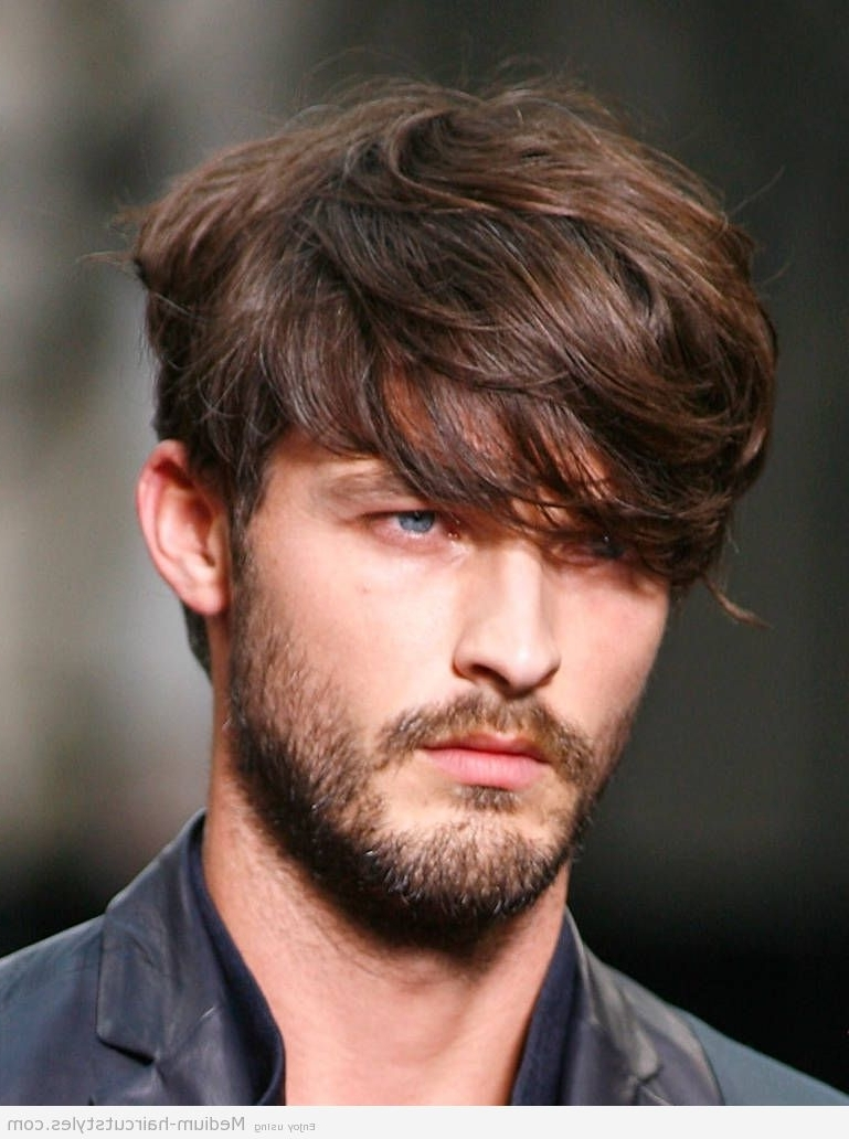 Widely Used Mens Shaggy Hairstyles Thick Hair In The Inspirations Of Hairstyles For Men With Thick Hair : Simple (View 15 of 15)