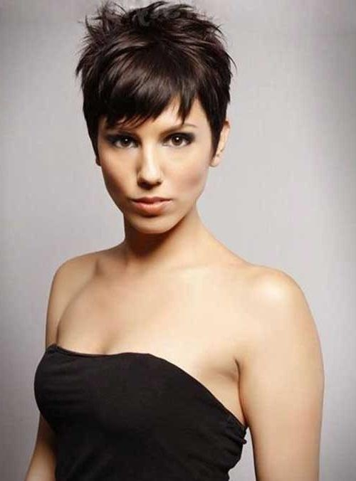 Widely Used Pixie Haircuts For Dark Hair Intended For 50 Best Short Pixie Haircuts (View 19 of 20)