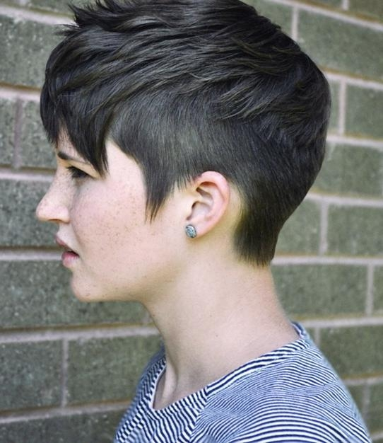 Widely Used Punk Pixie Haircuts Throughout 30 Chic Pixie Haircuts: Easy Short Hairstyle (View 12 of 20)