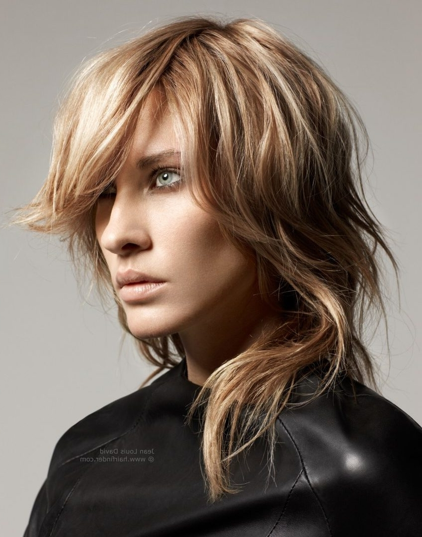 Widely Used Shaggy Choppy Hairstyles Pertaining To Long Choppy Hairstyles Haircuts With Bangs Hairstyle Layers Women (View 3 of 15)