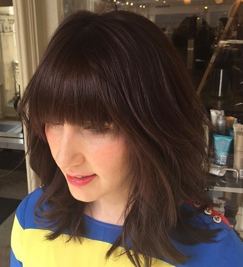Widely Used Shaggy Hairstyles For Fine Hair With 22 Cool Shag Hairstyles For Fine Hair 2018 (View 15 of 15)