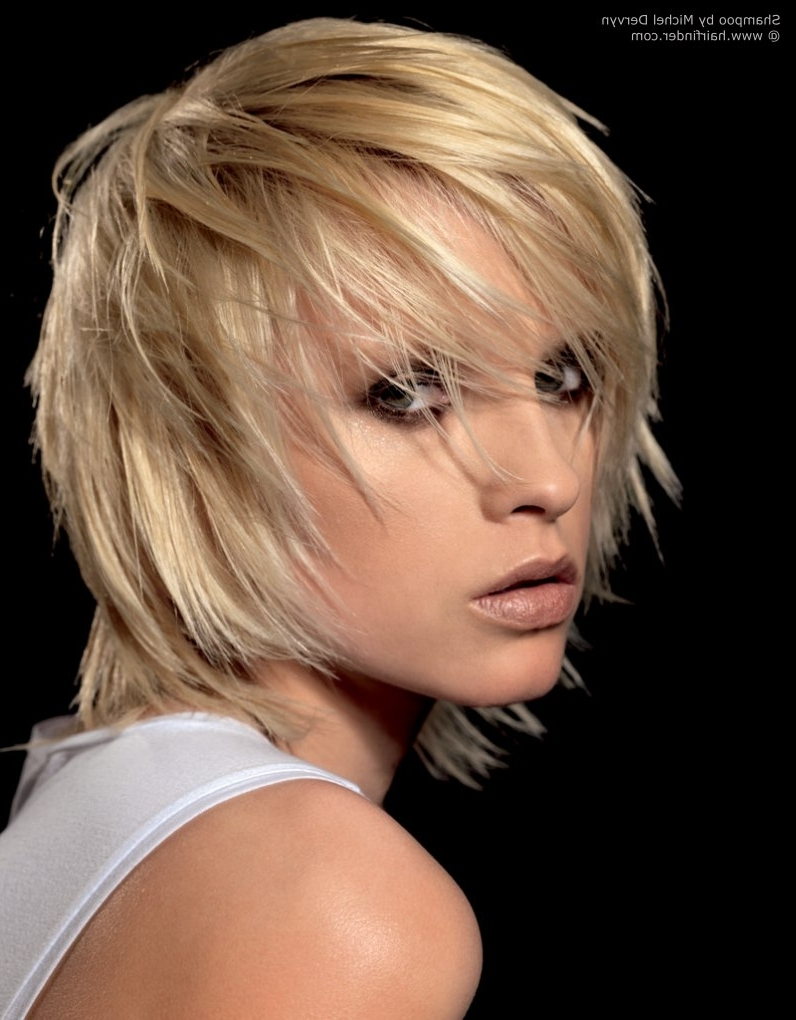 Widely Used Shaggy Razored Haircut With Regard To Shag Hairstyle With Razor Cut Layering And Tousled Styling (View 2 of 15)