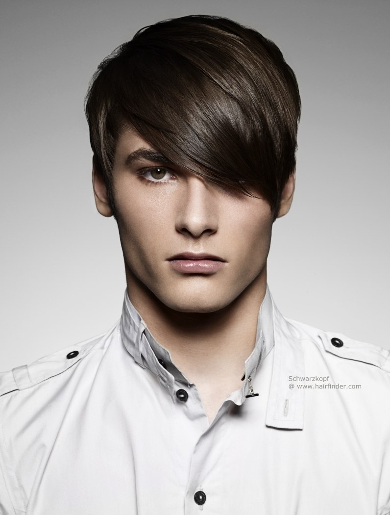 Widely Used Shaggy Rogers Haircut With Regard To Long Hairstyles With Bangs For Men Short Men's Haircut With Long (View 14 of 15)