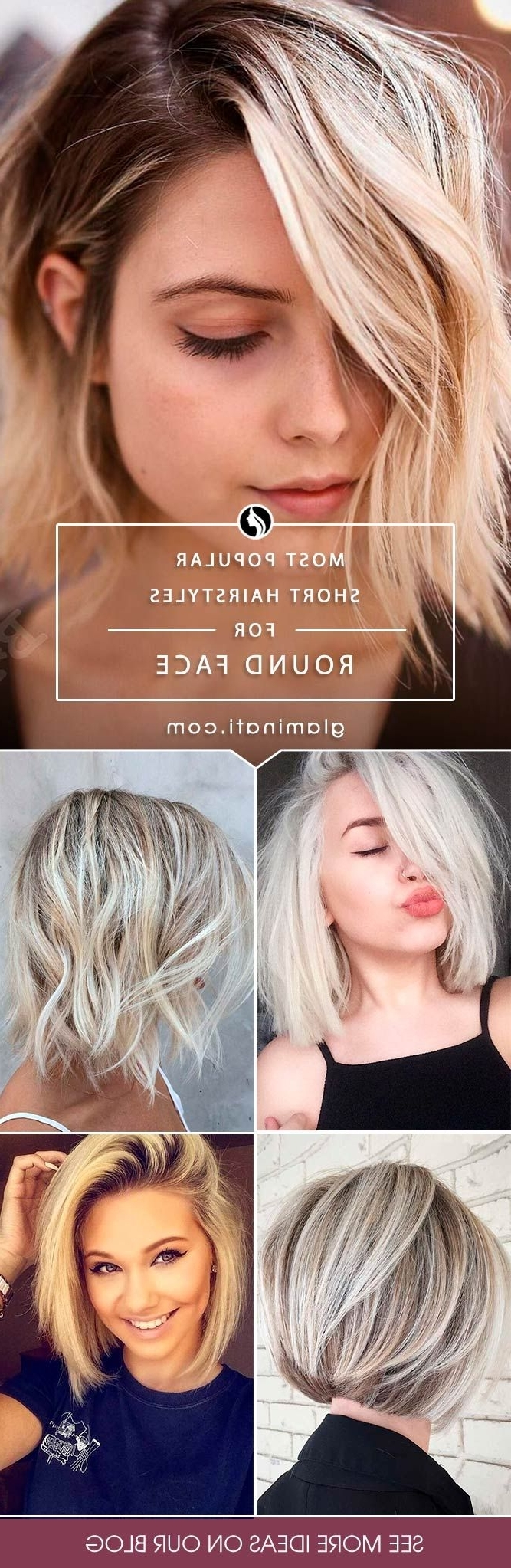 Widely Used Shaggy Short Hairstyles For Round Faces With The 25+ Best Short Hairstyles Round Face Ideas On Pinterest (View 8 of 15)