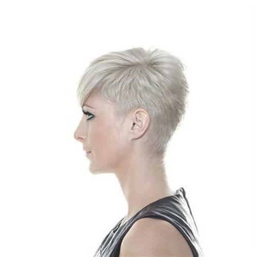 Photo Gallery Of Short Pixie Haircuts For Thin Hair Viewing 9 Of 20