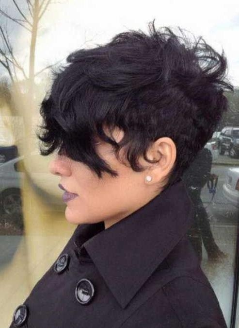 Widely Used Short Pixie Haircuts For Wavy Hair Inside Short Pixie Hairstyles For Wavy Hair – Popular Haircuts (View 20 of 20)