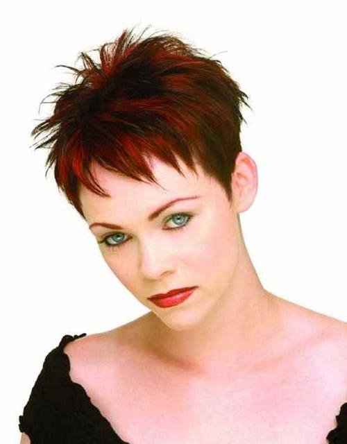 Widely Used Short Spiky Pixie Haircuts For Hottest Spiky Pixie Hairstyle Ideas – Page 2 – Haircuts And (View 20 of 20)