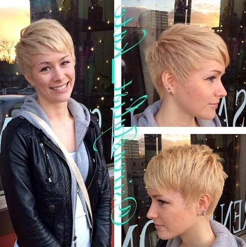 Widely Used Stylish Pixie Haircuts For 30 Trendy Pixie Hairstyles: Women Short Hair Cuts – Popular Haircuts (View 20 of 20)